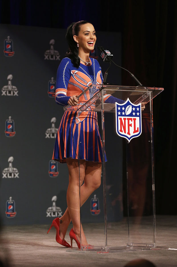 Pepsi Super Bowl XLIX Halftime Show Press Conference