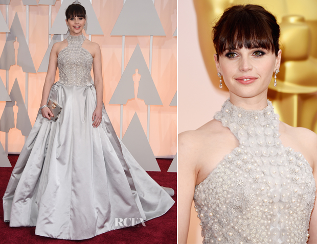 Felicity-Jones-In-Alexander-McQueen-2015-Oscars