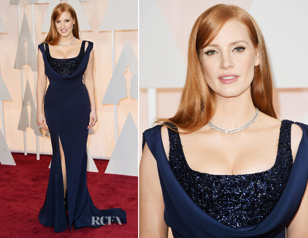 Jessica-Chastain-In-Givenchy-2015-Oscars