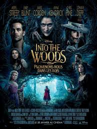 poster into the woods