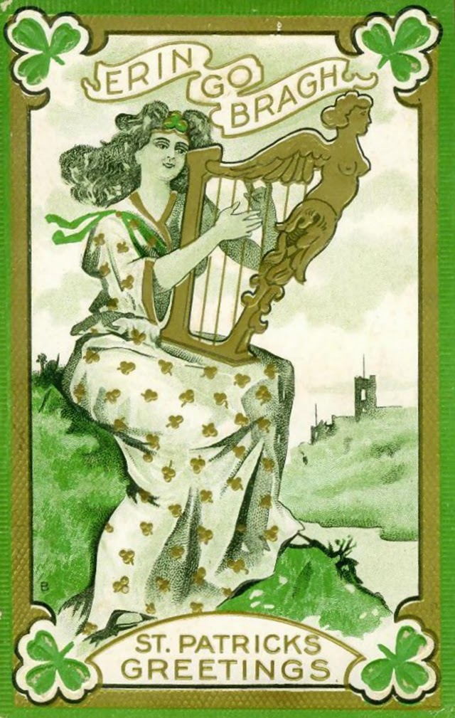 St. Patrick's Day Postcards (3)