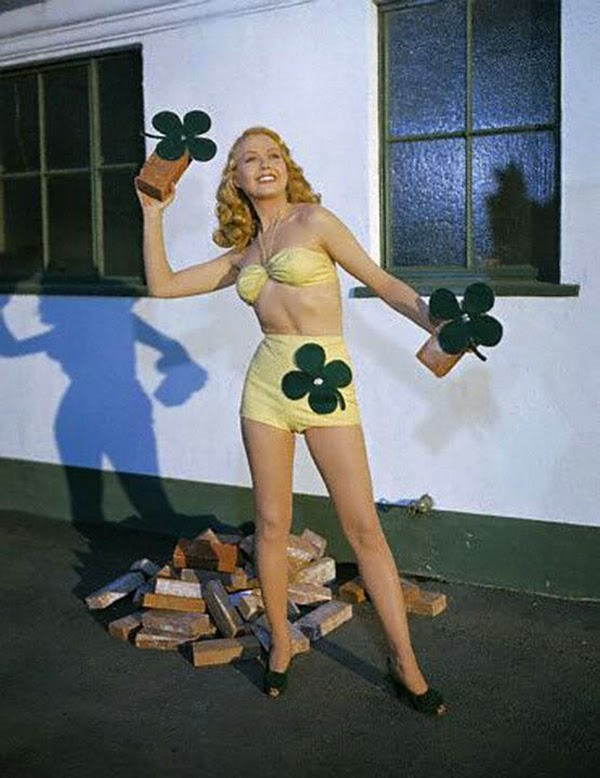 Vintage St. Patrick's Day Pin Up (12)