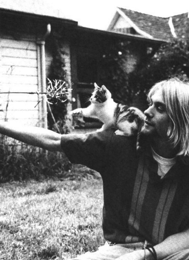 vintage celebs with pets (28)