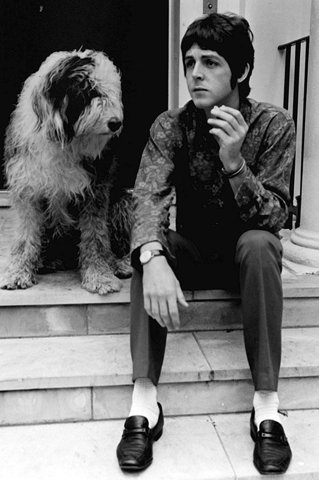 vintage celebs with pets (34)