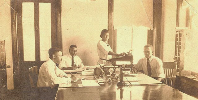 Antique Office Photographs, ca. 1920s (1)