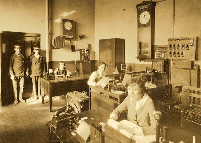 Antique Office Photographs, ca. 1920s (11)