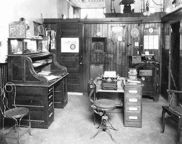 Antique Office Photographs, ca. 1920s (21)