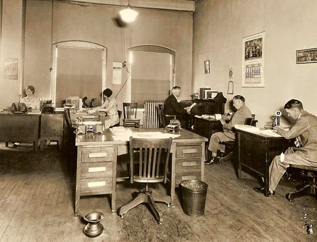 Antique Office Photographs, ca. 1920s (29)