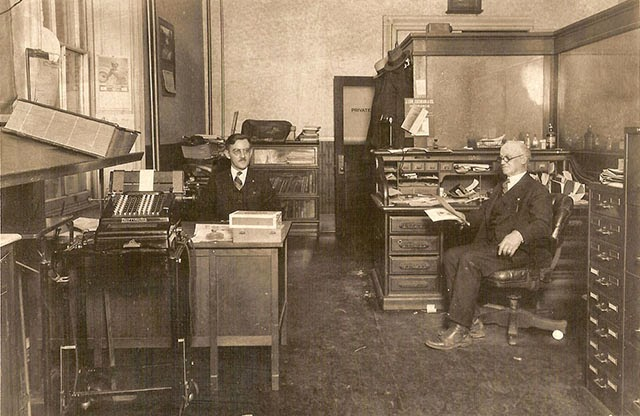 Antique Office Photographs, ca. 1920s (30)