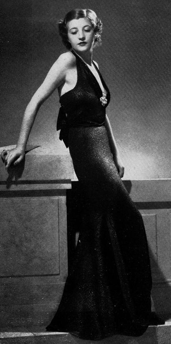 Robe du soir, 1930s (1)