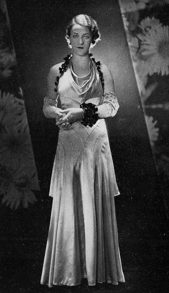 Robe du soir, 1930s (10)