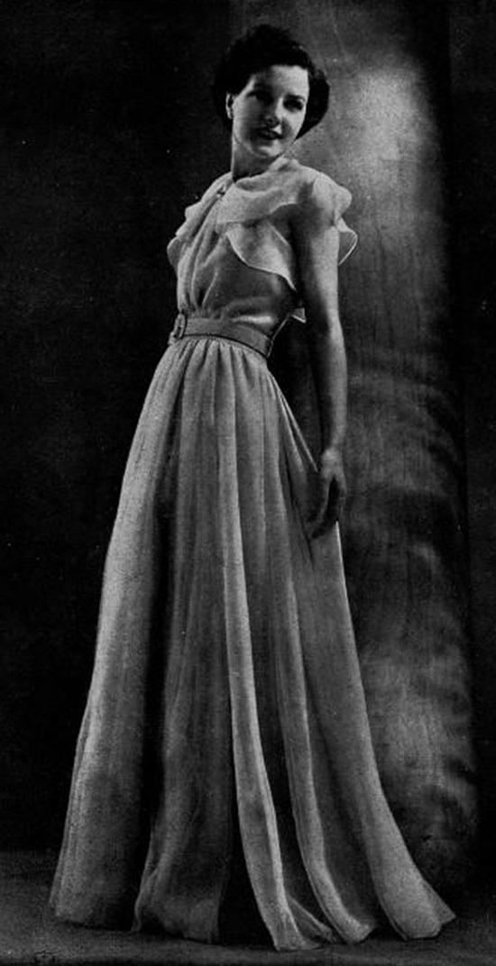 Robe du soir, 1930s (19)