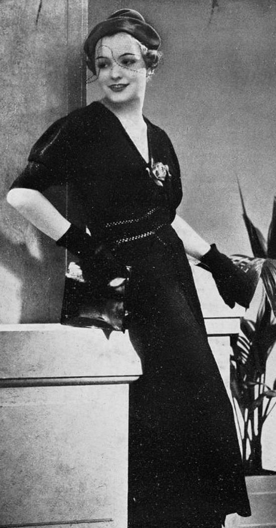 Robe du soir, 1930s (2)