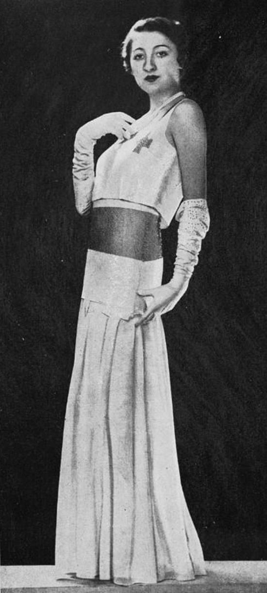 Robe du soir, 1930s (20)