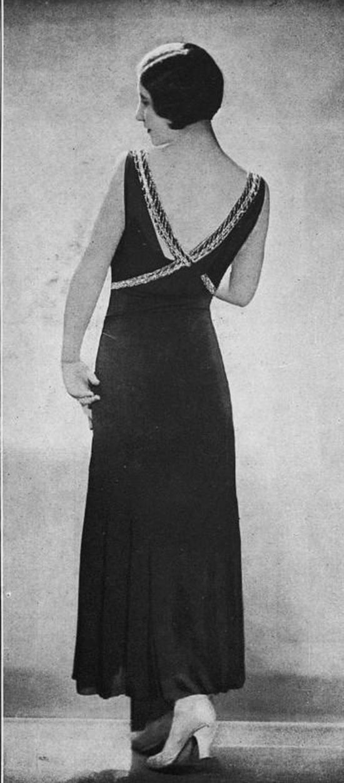 Robe du soir, 1930s (24)
