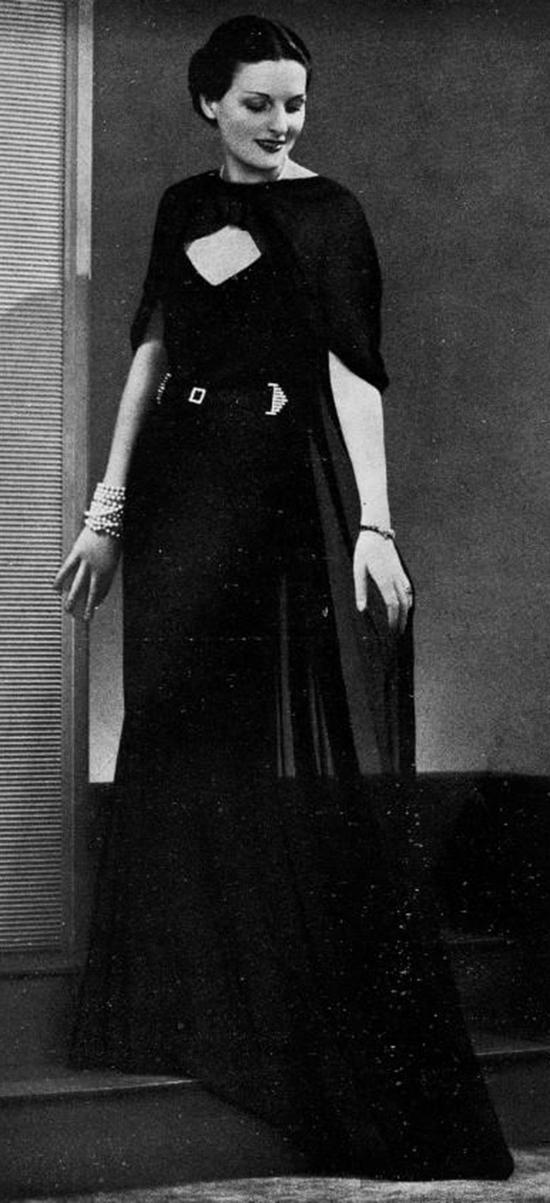 Robe du soir, 1930s (3)