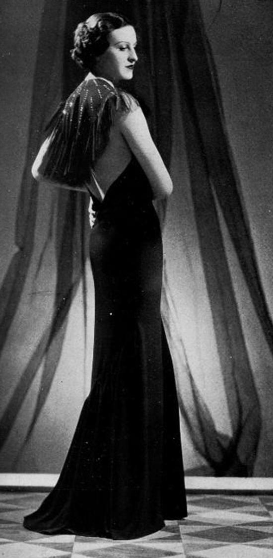 Robe du soir, 1930s (4)