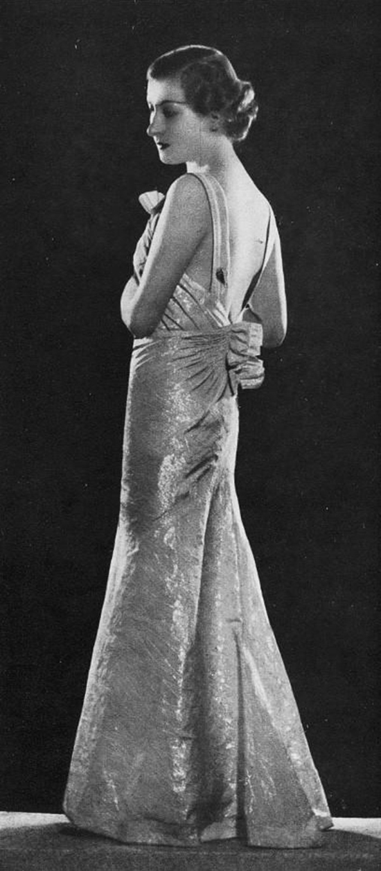 Robe cocktail 1930