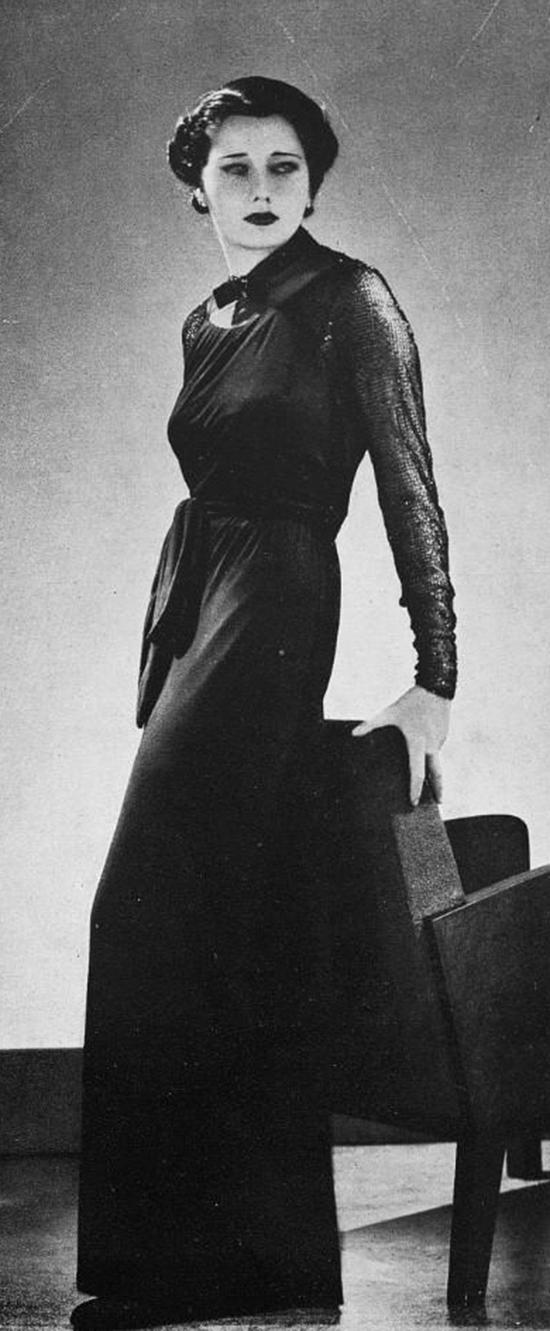 Robe du soir, 1930s (9)